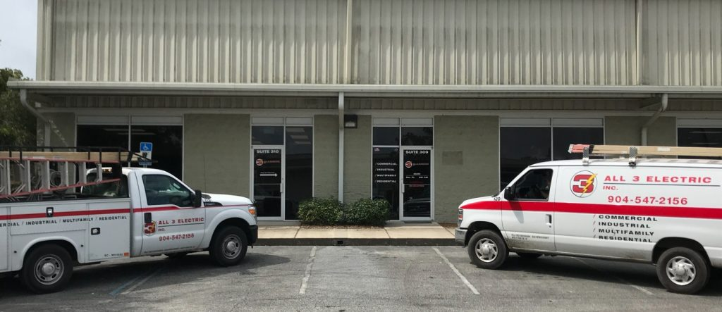 All 3 Electric, Subcontractors, Electrical, Electric, Trucks, New Office, Moved, All 3